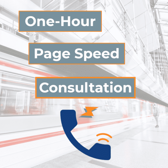 Page Speed Consultation
